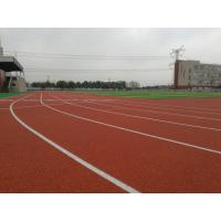 High Elasticity Track And Field Rubber Runway Shock Absorption Recycled Material