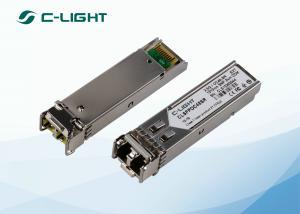 China 2.5G SFP Optical Fiber Transceiver Single Mode 1310nm 4km Duplex LC on sale