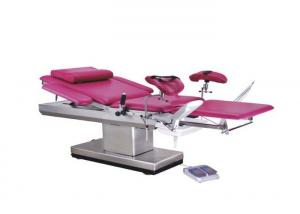 China Electric Medical Obstetric Delivery Bed With Foot For Gynecology ALS-OB109 on sale