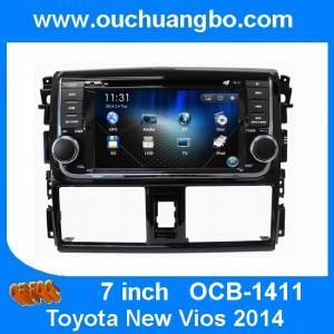 China Ouchuangbo Auto Multimedia DVD System for Toyota New Vios 2014 GPS Navigation Stereo Audio Player OCB-1411 on sale