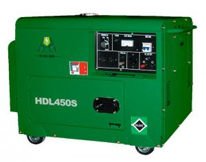 China 4.2KW / 4.5KW Silent Diesel Generator Set With Single Cylinder on sale