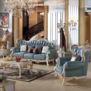 China Small Luxury House Solid carved furniture on sale