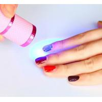 Mini 9 LEDS uv gel lamp Power with 3x AAA Battery