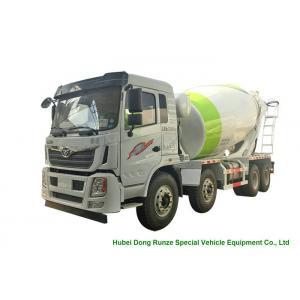 China HOMAN 8x4 12 Cubic Concrete Agitator Truck , Concrete Mixing Transportation Truck on sale