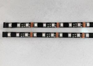 China 5m Flexible SMD 5050 Led Strip Light , Black PCB RGB LED Light Strips IP65 on sale