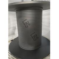 Hoist Drum / Wire Rope Winch Drum Coated With Weatherproof Mounted For Tower Crane