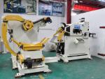 Stamping Equipment Punch Uncoiler Straightener Feeder For Blanking Machine