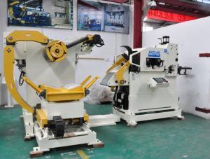 China Stamping Equipment Punch Uncoiler Straightener Feeder For Blanking Machine on sale