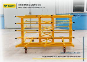 China Steel Frame Rack Truck Die Transfer Cart For Assemble Line Transportation on sale