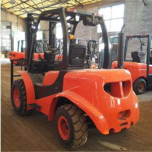 China 1800Kg Mini All Rough Terrain Lift Truck Articulated Forklift 1 Year Warranty on sale