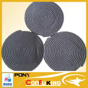 China 140MM Plant fiber material poweful effect 10hours burning mosquito coil on sale