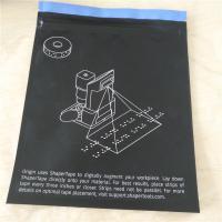 Three Side Seal Mylar Ziplock Plastic Packaging Bags For Medical Tape Packaging
