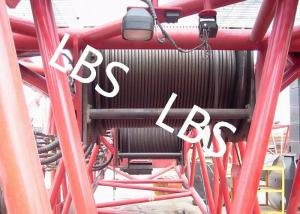 China Hydraulic Wire Rope Tower Crane Winch For Architectural Engineering on sale