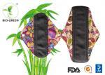 Bamboo Reusable Cloth Menstrual Pads , Eco Friendly Bamboo Pads Menstrual