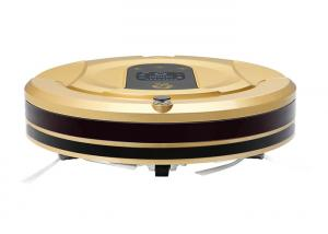 China 2.4G Wireless Remote Control Vacuum Cleaner Robot LCD Screen Less 55 Db on sale