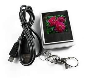 China German 8 - 10 hours automatic play Digital  photo Picture keychain support JPG, BMP on sale