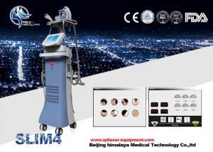 China Good effect Velashape cavitation + RF + Vacuum slimming machine with massage roller on sale