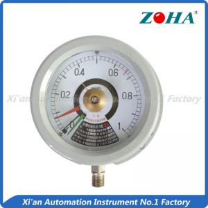 China Explosion Proof Electric Contact Pressure Gauge For Measuring Non Explosive Medium on sale