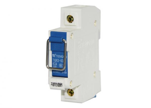 63a Circuit Breaker Disconnect Switch Rail Din Rail Mounted