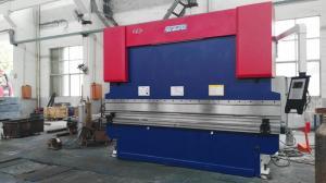 China Carbon Sheet CNC Hydraulic Press Brake 250KN Load Plate Bending Hand Press Brake on sale