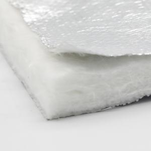 China 6mm long life aluminum foil Aerogel Insulation Blanket 1.5X27m on sale