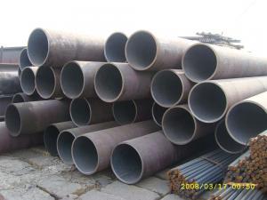 China Tubo de acero laminado en caliente profesional X42 X46 X56 de ERW para el petróleo/el gas natural on sale