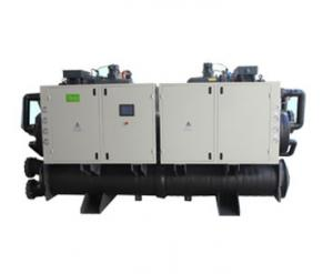 China Industrial Water Cooled Screw Compressor Chiller With Refrigerant R407C on sale