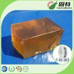 Papel gummed piezosensible del derretimiento del bloque caliente industrial transparente del pegamento