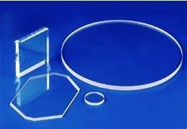 China high quality UV  JGS2  quartz glass window  transparent quartz  disc and Curved quartz plate on sale
