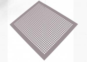 China Stainless Steel Perforated Metal Sheet , Punched Hole Steel Sheet Net on sale