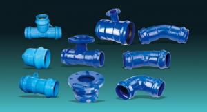 China Ductile Iron Pipe Fittings For PVC Pipe on sale
