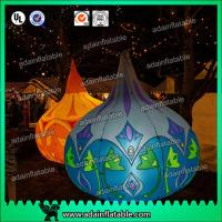 Bar Event Decoration Inflatable Sphere Balloon With LED Light