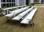 Tip Up Temporary Spectator Stands Light Aluminum Understructure For Golf Course