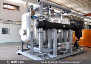 China Back wash control Industrial Filtration System / oil filtration system on sale