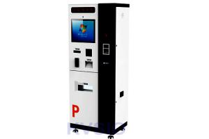 China Rugged Heavy Duty Parking Payment Kiosk Strong Lock System 24 / 7 Online Support on sale