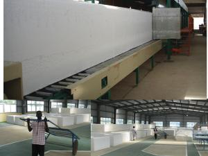 China High Speed Horizontal Continuous Sponge Making Machine For For Large - Scale Foaming on sale
