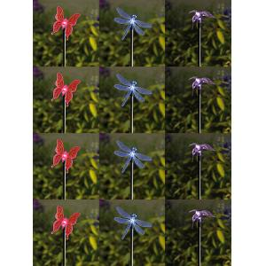 China 36H Metal Decorative Garden Stakes/Flower Yardstake on sale