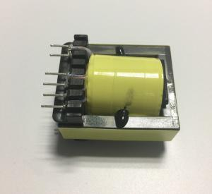 China Mobile Phone Charger High Frequency Ferrite Core Transformer 12V EE13 In Yellow on sale