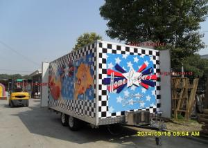Fashionable Mobile Kitchen Trailer Hire Catering Van With Custom ...