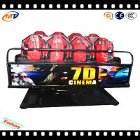 Elegant shape 9d cinema theater seating 7d theater simulator for great fun