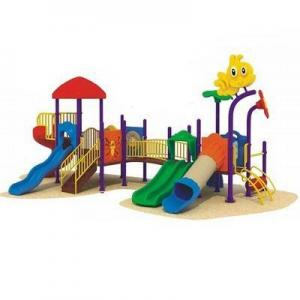 China Engineering Plastic Outdoor Playground AM-1667A on sale