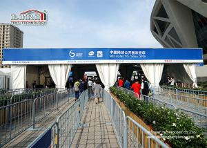 China Waterproof Amazing Clear Span Tent for China Open /  Flame Retardant Double Decker Tent on sale