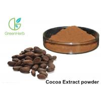 China Herbal Plant Extract Powder 10% 20% Theobromine Cocoa Extract Powder on sale
