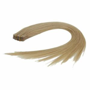 China Hand Tied PU Tape Hair Extensions Skin Weft Brazilian Virgin Hair Free Sample on sale