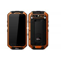 Orange Wildox Dual Sim Waterproof Smartphone IP68 Waterproof Dustproof Quad Core