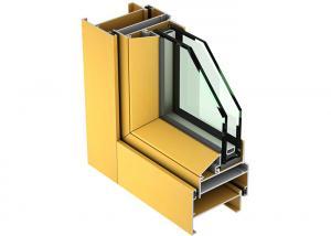 China 6063 6061 T6 Aluminium Window Extrusions Aluminium Glass Frame Profile on sale