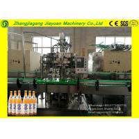 Large Glass Bottle Filling Machine / Split Carbonated Production Line 1.1kw