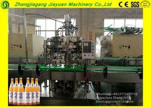 China Large Glass Bottle Filling Machine / Split Carbonated Production Line 1.1kw on sale