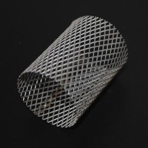 China 2x3mm Stainless Steel Expanded FDA Wire Mesh Filter on sale