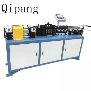 China A Chipless 3-16mm Steel Pipe Straightening Machine Rotary Wire Straightener on sale
